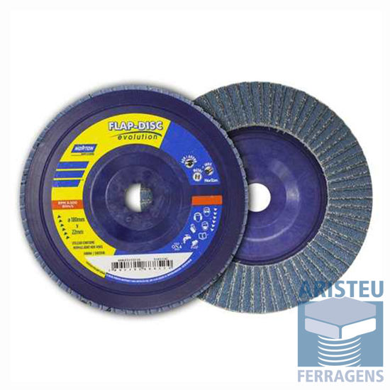 Disco Flap de Plastico Norton