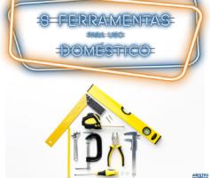 8 Ferramentas Para Uso Doméstico