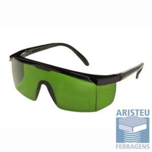 Óculos de Proteção Lente Verde