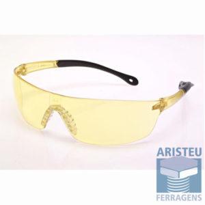 Óculos de Proteção tonalidade amarela